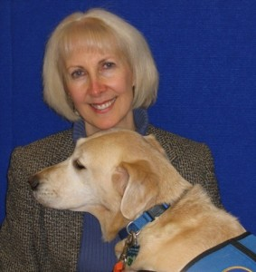 Cheryl and Hearing Dog, Galaxy