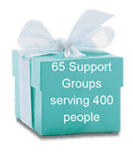 65 Support Groups serving 400 people