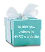 16,000 new visitors to NVRC's website