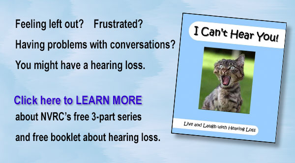 """I Can't Hear You!"" NVRC  free Program"