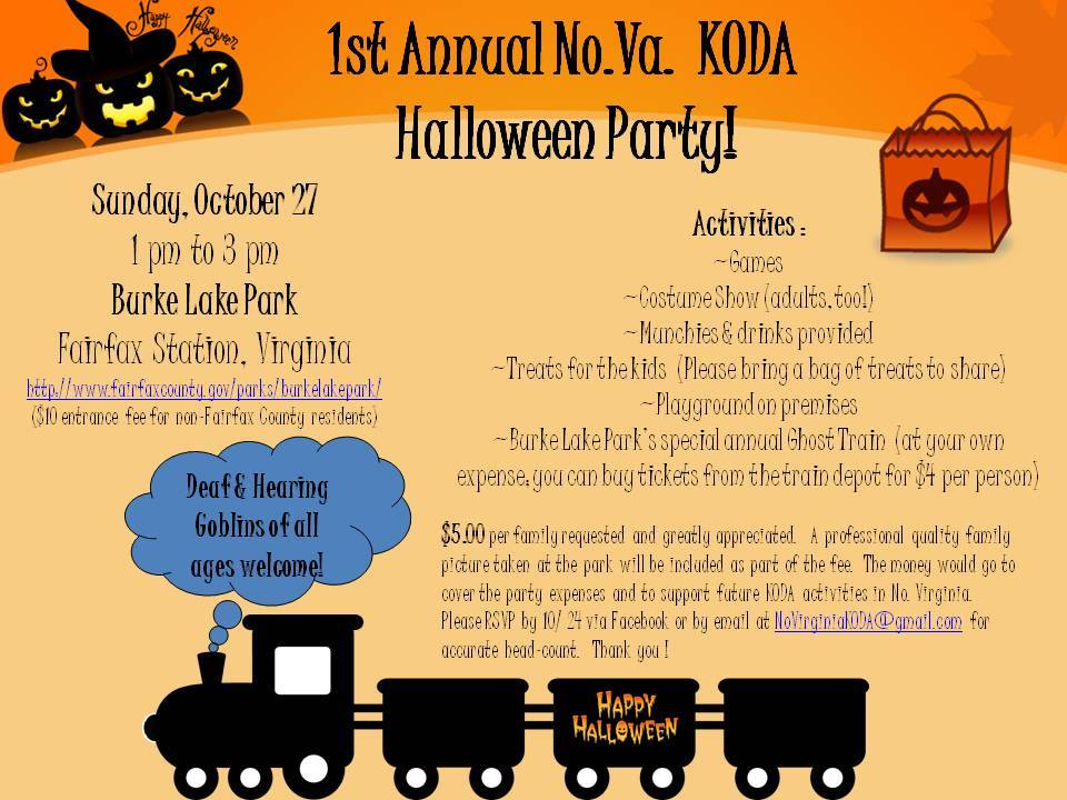 !st Annual No. BA KODA Halloween Party