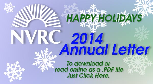NVRC 2014 Annual Letter