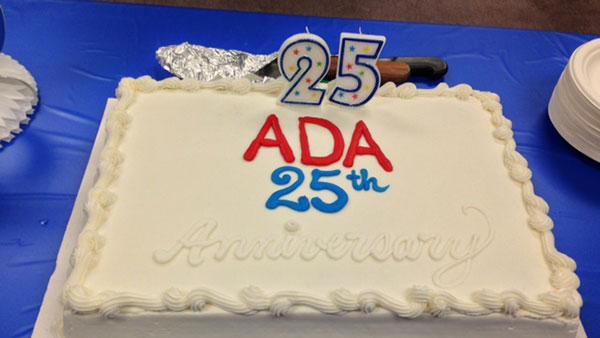 25th ADA Cake