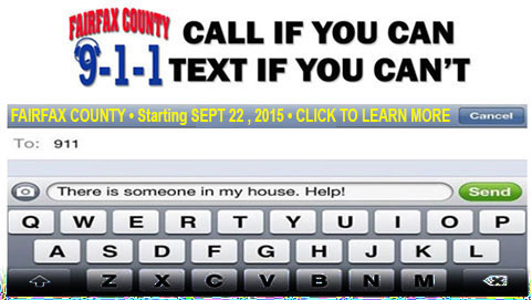 TEXT to 911 SEPTEMBER 22 - 9:30AM