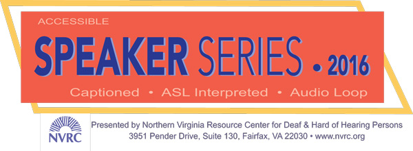 NVRC speaker Series 2016