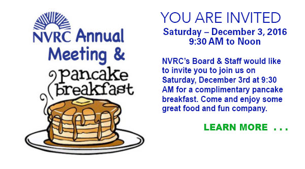 NVRC Annual Meeting & Pancake Breakfast